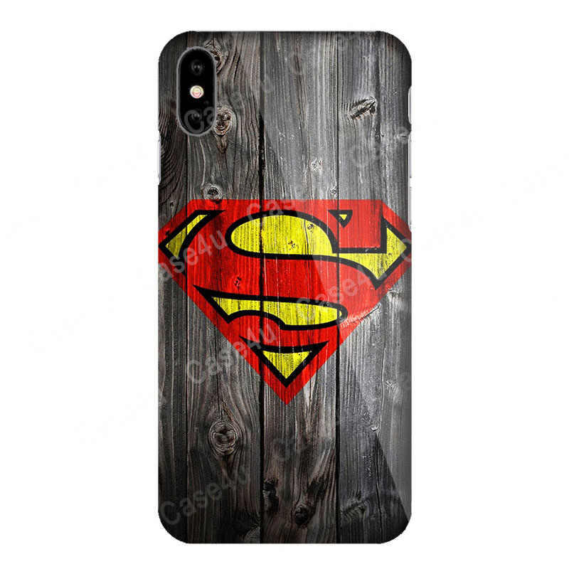 マーベルアベンジャーズ Dc コミックス電話ケース 8 7 6 6s プラス XS 最大 XR 10 バットマンスパイダーマンカバースーパーマンロゴ funda