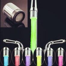 Te glow кухонный изменение головы груза падения душ кран света воды