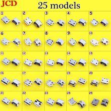 Универсальный разъем jcd micro usb dc jack питания для зарядки