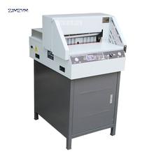 Электрический цифровой аппарат для резки бумаги E460R автоматический резак для бумаги триммер для бумаги ширина резки 460 мм толщина 600 страниц 110 В/220 В