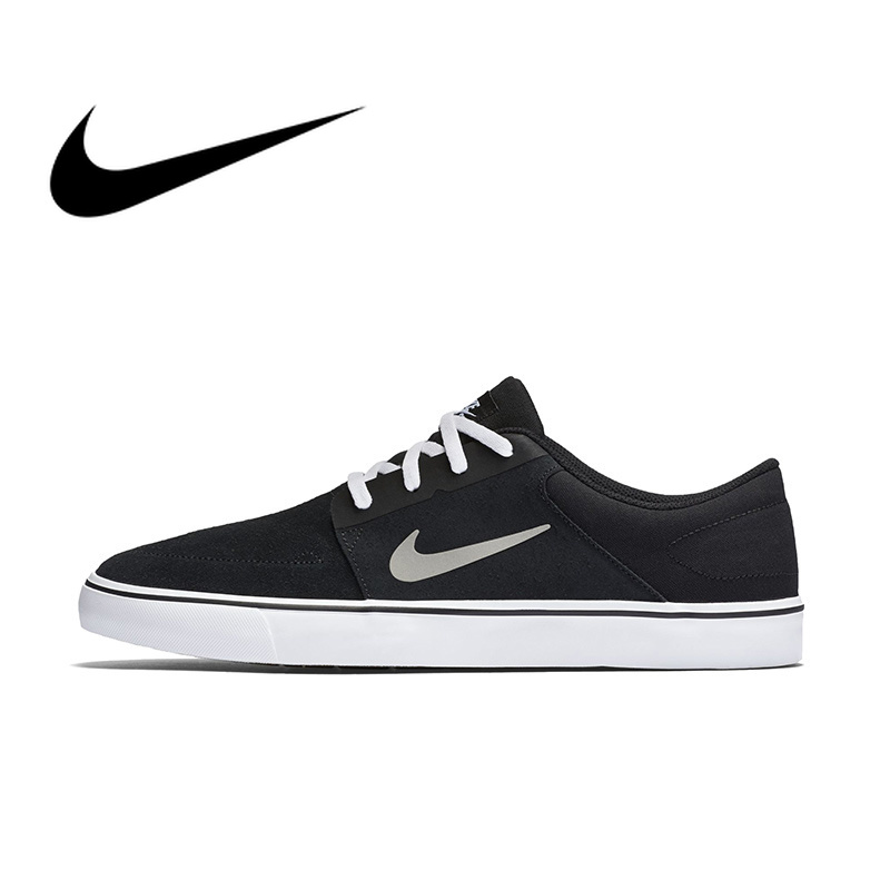 Original Authentic NIKE SB PORTMORE Mens Breathable Skateboarding Shoes Sports Sneakers Outdoor Comfortable Breathable 725027Original Authentic NIKE SB PORTMORE Mens Breathable Skateboarding Shoes Sports Sneakers Outdoor Comfortable Breathable 725027