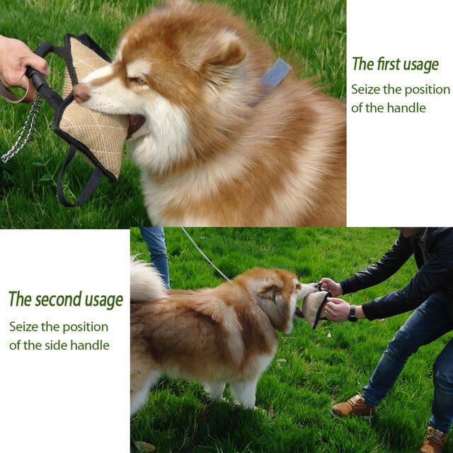 Online Shop Dog Training Bite Tugs Pet Bite Pillow Jute Dog Bite