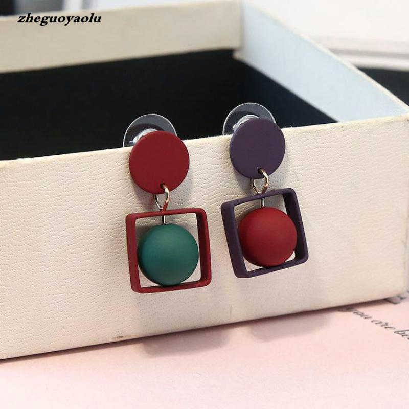 Simple Personality Temperament Temperament Long Section Manyy Earrings Women Gift Wedding Earrings Earings Fashion Jewelry
