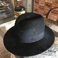 Señor extranjero M cartas de gama alta de lujo Conejo de la felpa del casquillo del sombrero joker sombreros para hombres y mujeres