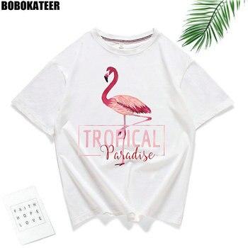 "Camiseta ""Tropical Paradise"" Mujer 2-69"