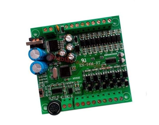 EX1S FX1S 14MT programmable logic controller 8 input 6 output RS485 Modbus RTU  plc controller automation controls plc system