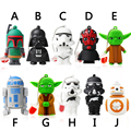 USB Flash Drive 64G Star Wars Pen Drive 32GB Pendrive 16GB R2D2 Darth Vinda 8GB 4GB Maul Bounty Hunter USB2.0 Memory Stick Drive