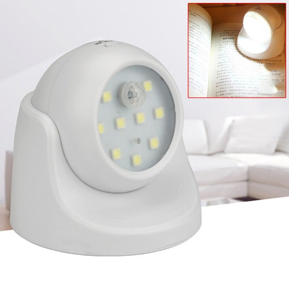 intelligent light 9led wireless motion sensor battery power sconce wall light for bedroom - Battery Operated Sconces