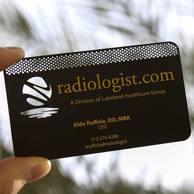 Personalized tap etched and holed punching quality stainless steel vip metal card