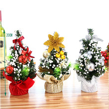 MUQGEW Christmas Tree home Bedroom Desk Decoration Toy Doll Gift Office Home Children christmas tree decorations party supplies
