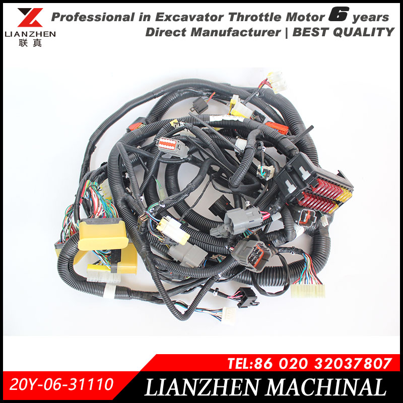 Excavator PC200 7 old series inner cabin font b main b font font b wiring b online buy wholesale main wire harness from china main wire,High Quality Motorcycle Wiring Harness Supplier We Are China
