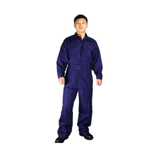d9c94c90682 100% algodón hombres Seguridad babero overoles de los hombres ropa de  trabajo masculino herramientas prendas