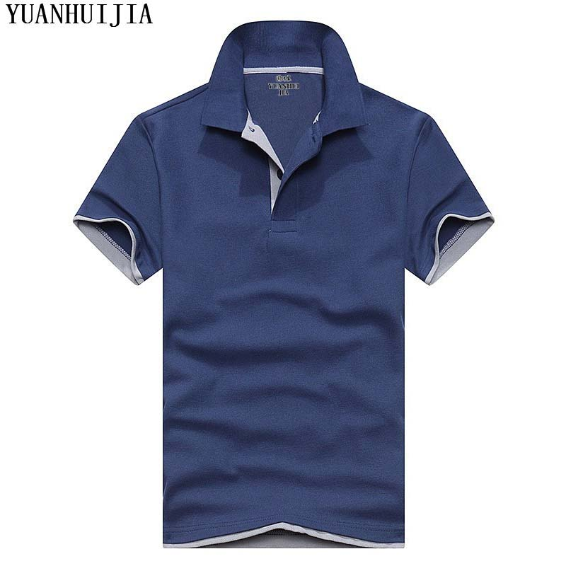 Brand Clothing   Polo   Shirt Solid Casual   Polo   Homme For Men Tee Shirt Tops High Quality Cotton Slim Fit