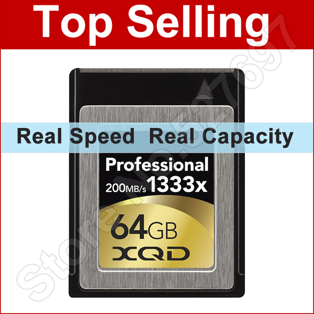 200 МБ/с. 1333x XQD Карты 32 ГБ 64 ГБ PCI Интерфейс 5 Гбит/С Карты Памяти для Nikon D4 D4S SONY DSLR Цифровые ЗЕРКАЛЬНЫЕ Видеокамера Видеокамеры