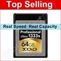 200MB/s 1333x XQD Card 32GB 64GB PCI Interface 5Gbps Memory Card for Nikon D4 D4S SONY DSLR Digital SLR Video Camera Camcorder