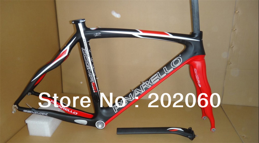 ALL Colors 65.1 Think2 Pinarello Dogma Carbon 2013 Frame+Fork+Headset+Seatpost+Clamp road bike frame set - free shipping
