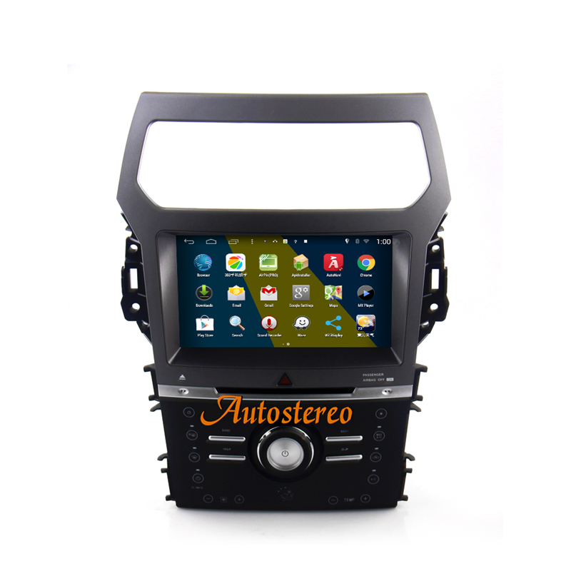9 Inch Dual System Andriod S160 Quad Core Car DVD Player GPS Navigation Head Unit For Ford Explorer 2011 2012 2013 2014 2015