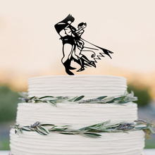 Batman and Wonder Woman cake topper Wedding Cake Topper(China)