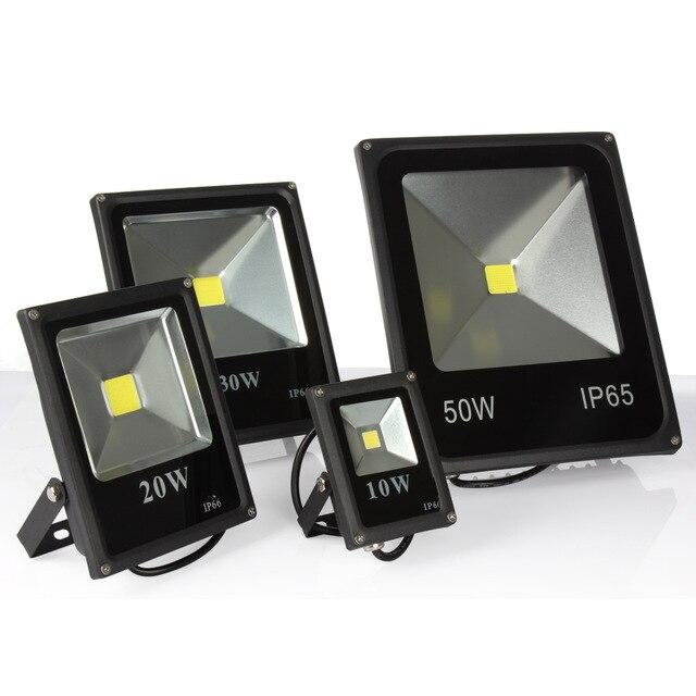 10pcs Hot Sale Outdoor Floodlight 10W 20W 30W 50W Led