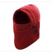 Men Women Face Mask Thermal Fleece Balaclava Hood Swat Wind Winter Stopper Beanies Out Door Apparel Accessories