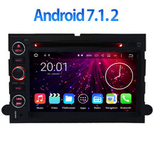 7.1.2 Android Quad Core 2 GB RAM BT Car DVD Multimedia reproductor de 4G LTE WIFI DAB DVR GPS para Ford Fusion 2006-2009