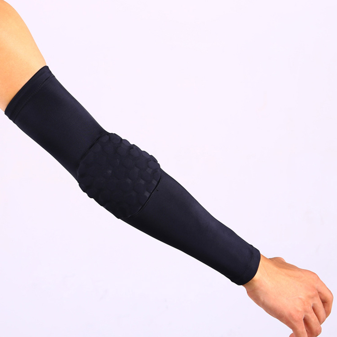 1pcs Basketball Elbow Support Protector Bicycle Cycling Sports Safety Elbow Pad Long Arm Sleeve Xrq88 Cheapest Price From Our Site Men's Arm Warmers