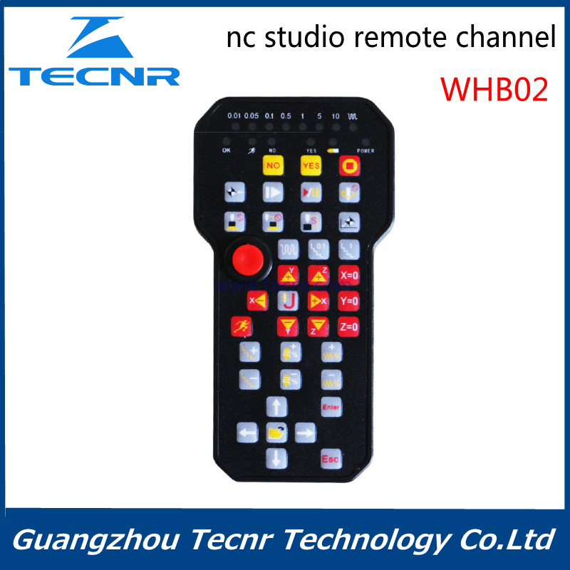 Wireless CNC Router Handlewheel Nc studio DSP Control handle for CNC Wood Cutting and Engraving Machine richauto a11 dsp controller for cnc router control dsp a11s a11e board data line