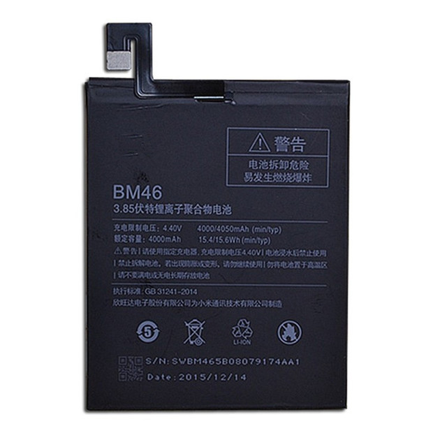jinsuli BM46 4000mAh Battery For Xiaomi Redmi Note 3 Xiao mi Hongmi note 3 Pro