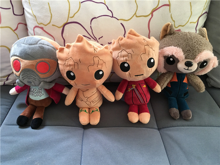 48pcs/Lot Guardians of the Galaxy 2 Dolls Soft Plush Toys 20CM Plush Stuffed Toys Best Gift for Kids DHL free shipping T161