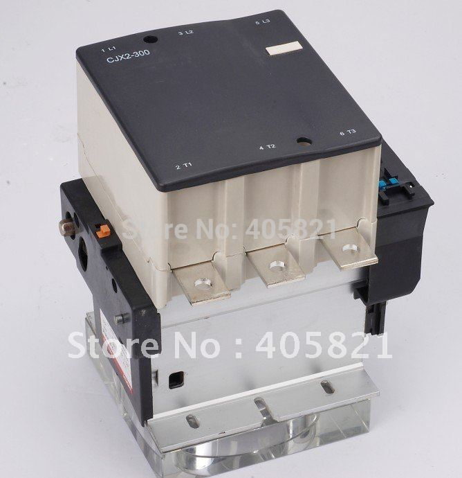 Best quality 300A AC Contactor CJX2-300 3P used for ac motor best quality 245a ac contactor cjx2 245 3p used for ac motor
