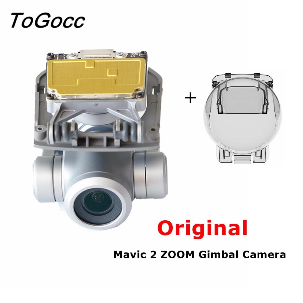 Original Gimbal Camera for DJI Mavic 2 Zoom Repair Parts Sensor with Camera Module Lens Cover Flat Flex Cable Replacement Part