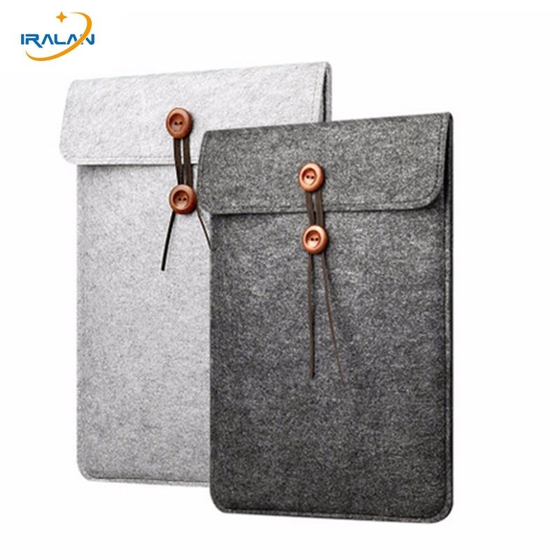 Per apple macbook pro 13 custodia in feltro di lana per xiaomi - Accessori per notebook