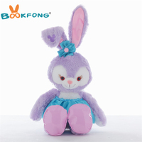 New Duffy Bear Friend Stellalou Ballet Rabbit Cute Stuff Plush Toy Japanese Anime Girl Long Ear