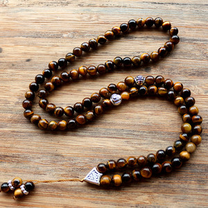 Image 3 - Handmade 6mm Natural stone bead with Alloy charm Shape 99 Prayer Beads Islamic Muslim Tasbih Allah Mohammed Rosary for women men
