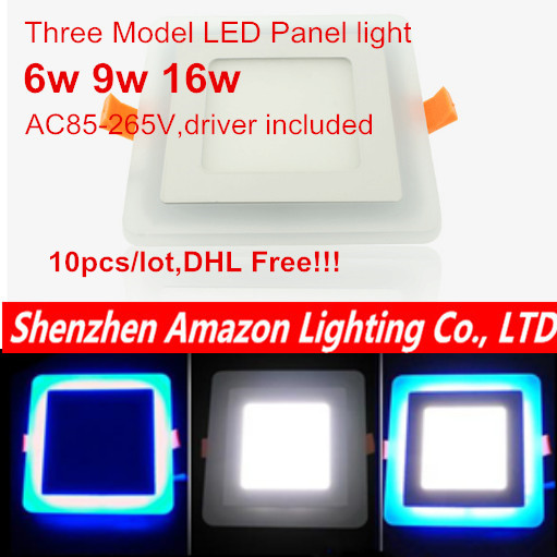Downlights Back To Search Resultslights & Lighting 10pcs 6w 9w 16w Acrylic Led Panel Downlight 3 Model Square Panel Light Warm Cold White Blue Ceiling Recessed Lamp Indoor Light