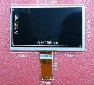 New red crown special shelf new original Newman T3 Display 7-inch LCD screen T3 neiping бутсы футбольные nike phantom iii elite df fg ah7292 081 jr детские сер оранж