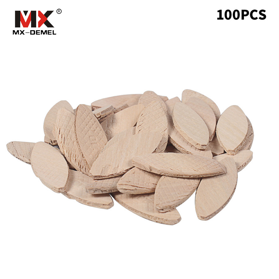 MX-DEMEL No. 10# Assorted Wood Biscuits For Tenon Machine Woodworking Biscuit Jointer 100Pcs Power Tool Woodworking Accessories no name 10 кг замок гайка