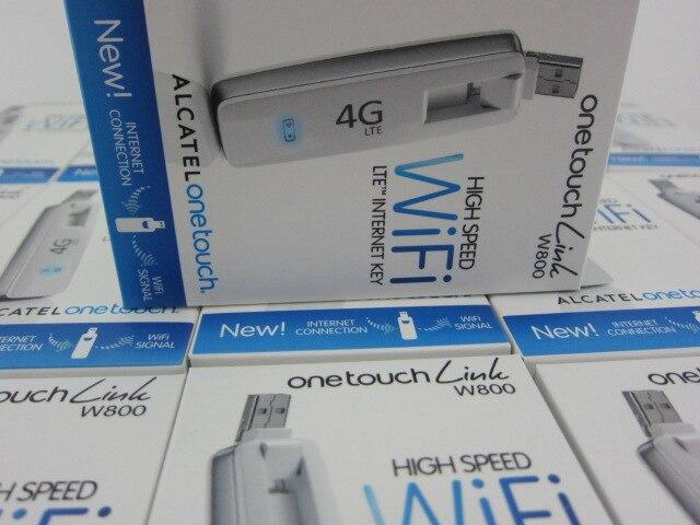 Unlocked Alcatel W800 W800O 100Mbps 4G LTE and 3G USB 10 WiFi font b Wireless b