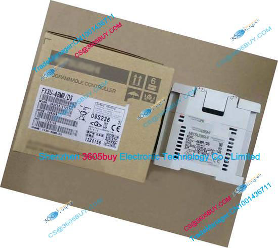New Original PLC Main Unit DI 24 DO 24 Transistor 24V DC FX3U-48MT