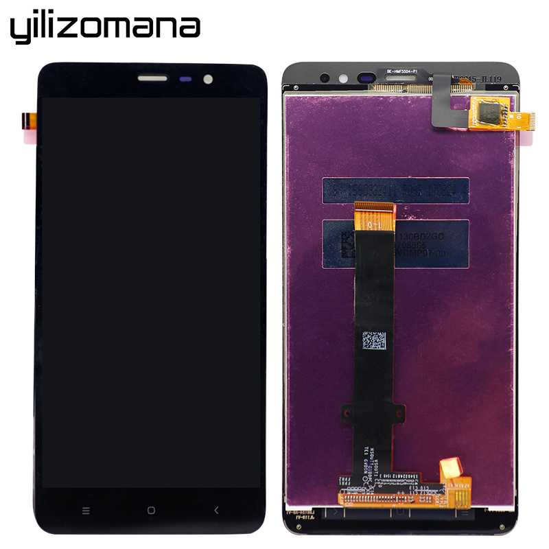 YILIZOMANA 5 5 39 39 LCD Display Touch Screen with Frame For Xiaomi Redmi Hongmi Note 3 Replacement Parts Aseembly Free tools in Mobile Phone Touch Panel from Cellphones amp Telecommunications