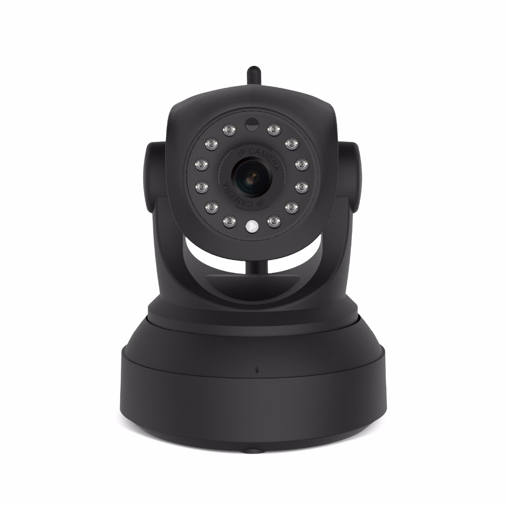 2MP HD full black color wifi IP PTZ cameras C24S  Eye4 APP P2P wire free security cameras two way audio onvif wireless camera2MP HD full black color wifi IP PTZ cameras C24S  Eye4 APP P2P wire free security cameras two way audio onvif wireless camera