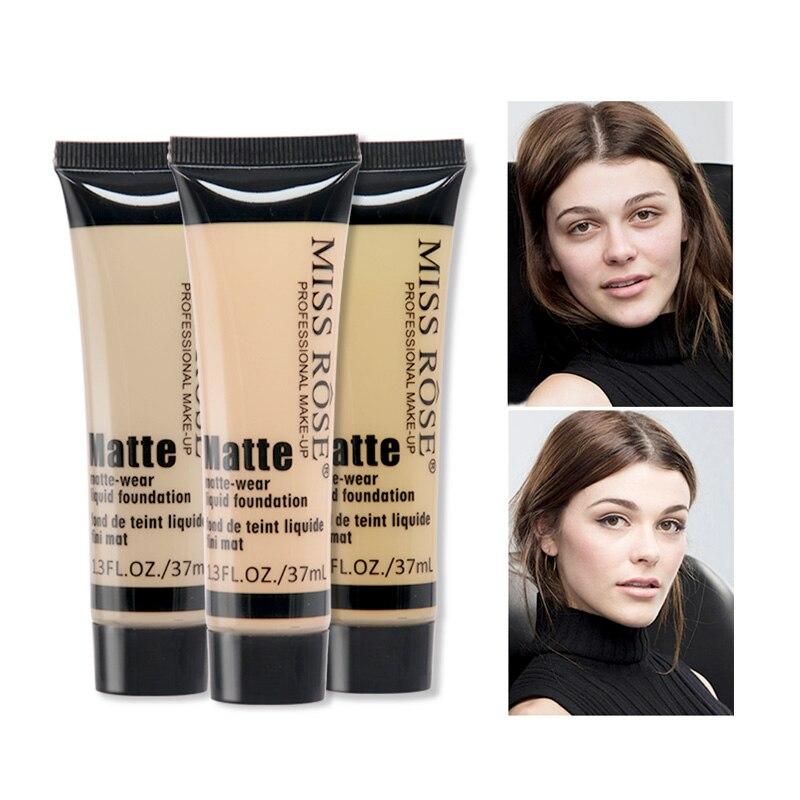 Miss Rose marque visage correcteur maquillage naturel hydratant crème éclaircissante basique professionnel correcteur fond de teint liquide apprêt