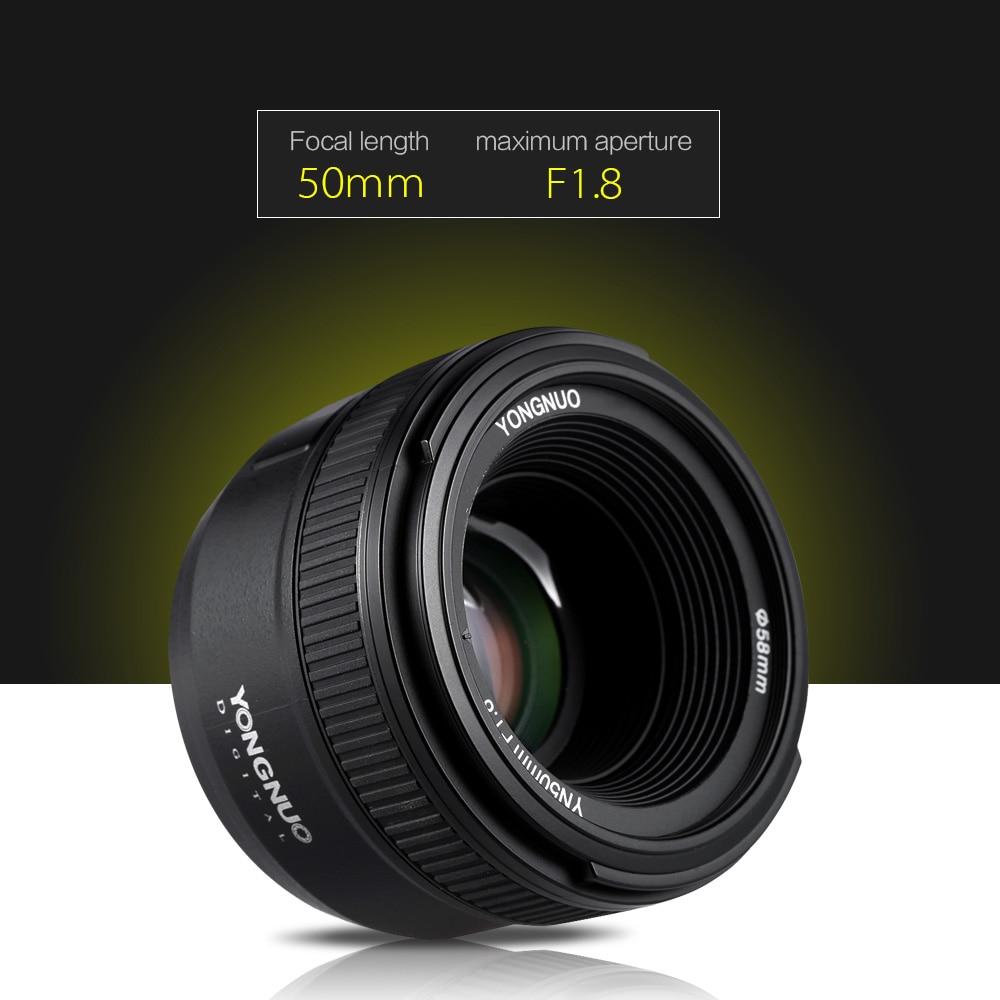 YONGNUO YN50mm F1 8 Large Aperture AF Auto Focus FX DX Full Frame Lens for Nikon