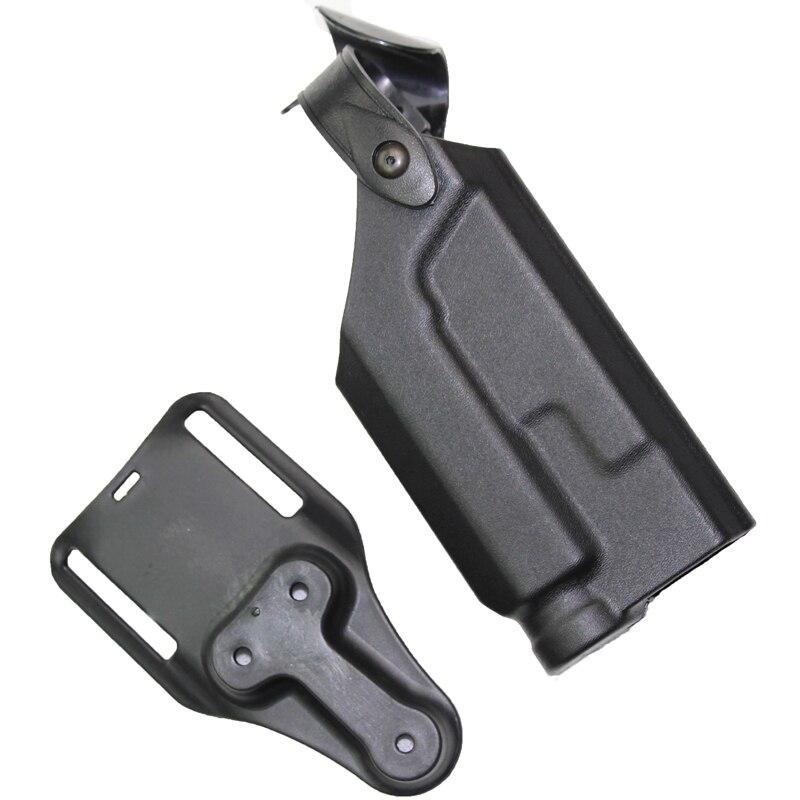 Caza Airsoft Cinturón de Liberación Rápida Tactical Holster Colt 1911 Negro Enví