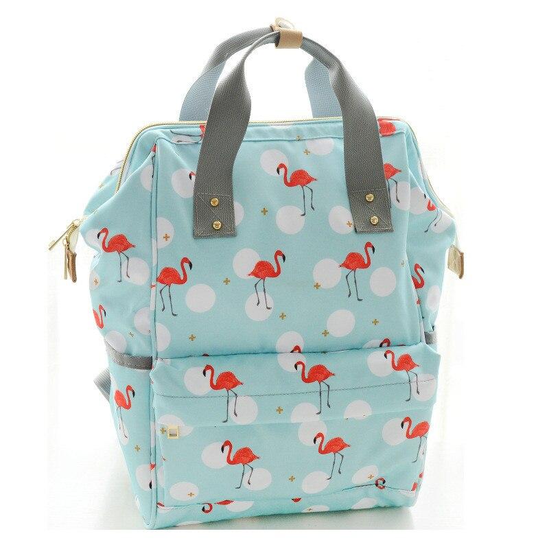 2018 Fashion Cute printing women backpack multifunction large capacity Mummy Bag portable backpack waterproof travel backpack