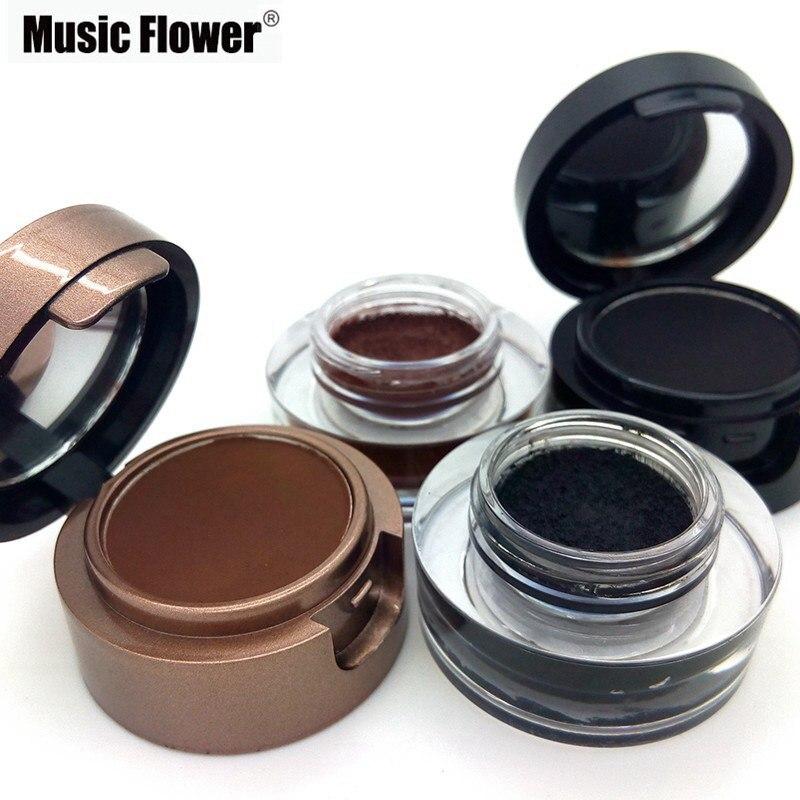 2015 Hot Music Flower Brand Makeup 4 In 1 Eyeliner Geleyebrow