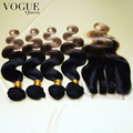 3 тон # 1b / # 4 / # 27 ломбер бразильские волосы с закрытием, 100% необработанные девы волос, 4 шт. связки и 1 шт. кружева закрытие, Лучший продавец