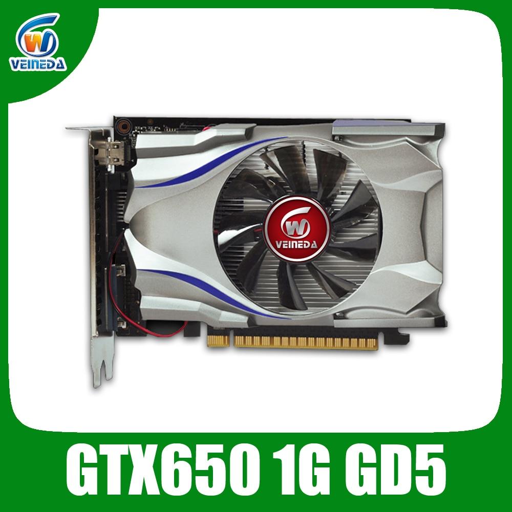 Tarjeta gráfica GTX650 1g 128Bit tarjeta de video juegos para NVIDIA GeForce juego
