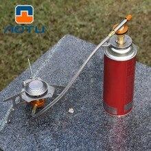 חיצוני קמפינג המרה ראש מתאם בקבוק גז תנור מחבר חיצוני פיקניק קמפינג טיולים