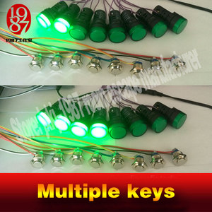 Image 3 - 2016 new Multiple keys real life room escape prop tools press button in sequence turn on the light and run awayfrom chamber room